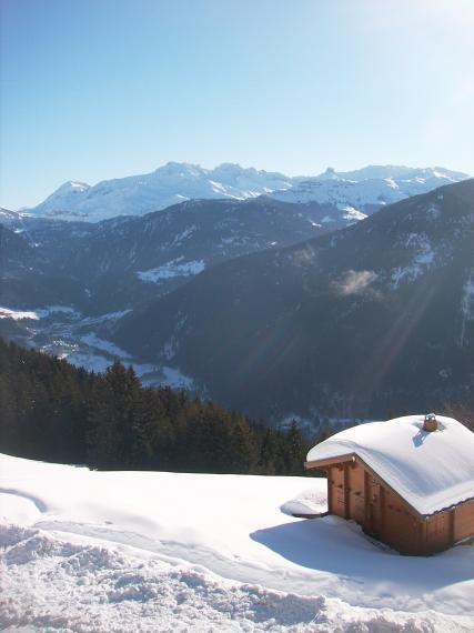 Chalet et montagne
